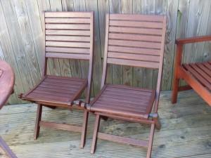 Restored Deck Chairs